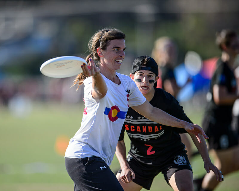 Denver Molly Brown and Washington DC Scandal headline the 2019 Pro Elite Challenge as they continue their perennial battle near the top of the division. Photo: Kevin Leclaire -- UltiPhotos.com