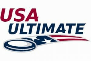 The logo of USA Ultimate, the sport's national governing body.