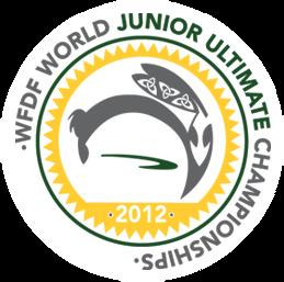 The World Juniors Ultimate Championship logo design.