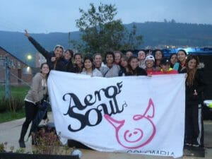 Bogotá's Aerosoul poses for a photo after taking 2nd place in the 2012 AJUC Colombian Nationals.