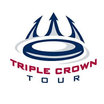 The logo for USA Ultimate's Triple Crown Tour.