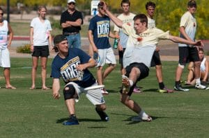 UC Davis takes on UC Santa Barbara at the 2012 Southwest Regionals.