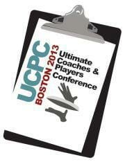 The logo for the 2013 Ultimate Coaches and Players Conference.