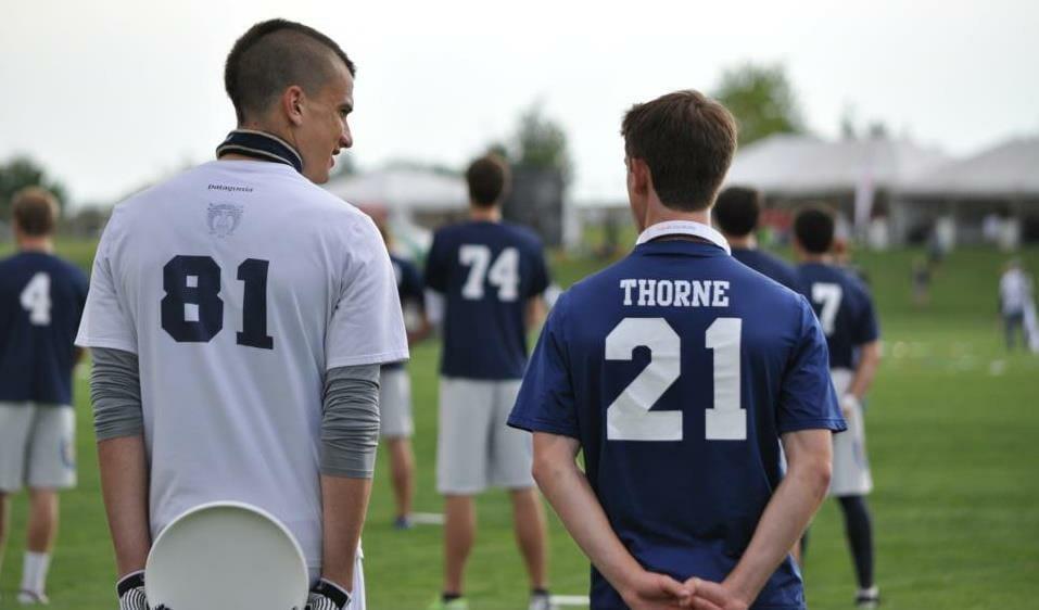 Tyler Degirolamo (left) and Alex Thorne.