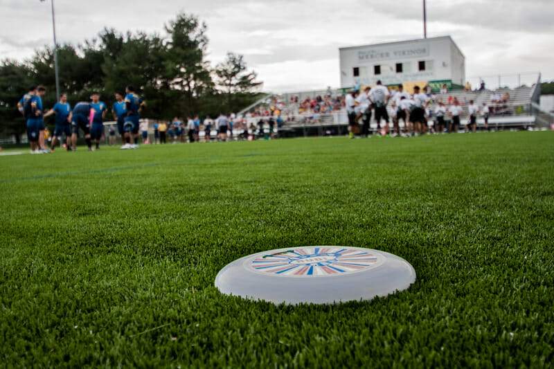 The New York Empire v. the New Jersey Hammerheads in the AUDL, Week 11.