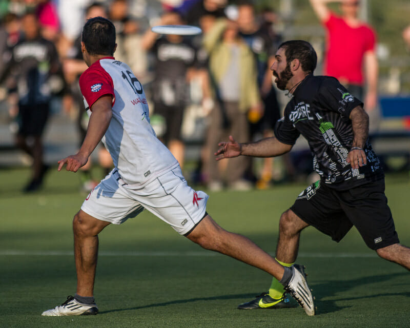 The AUDL's Toronto Rush v. New York Empire in 2013.