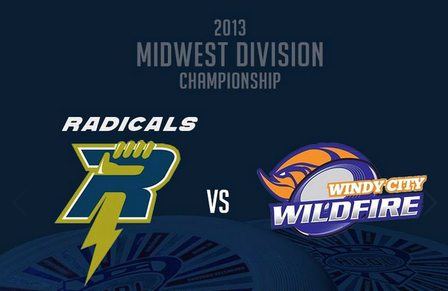 The 2013 Midwest Division Championship between the Madison Radicals and the Windy City Wildfire.