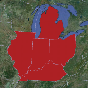 USA Ultimate's Great Lakes Region.