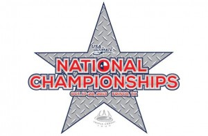 2013 USA Ultimate Club National Championships logo.