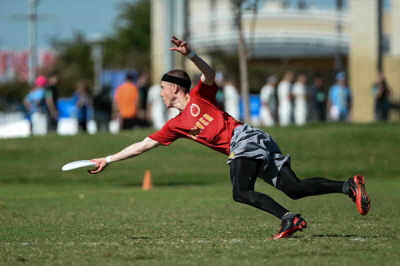 Revolver at the 2013 USA Ultimate Club Championships.