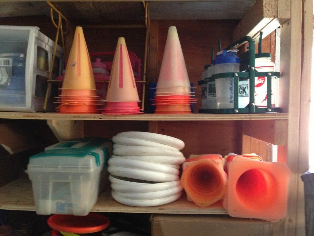 Tiina Booth's Garage.