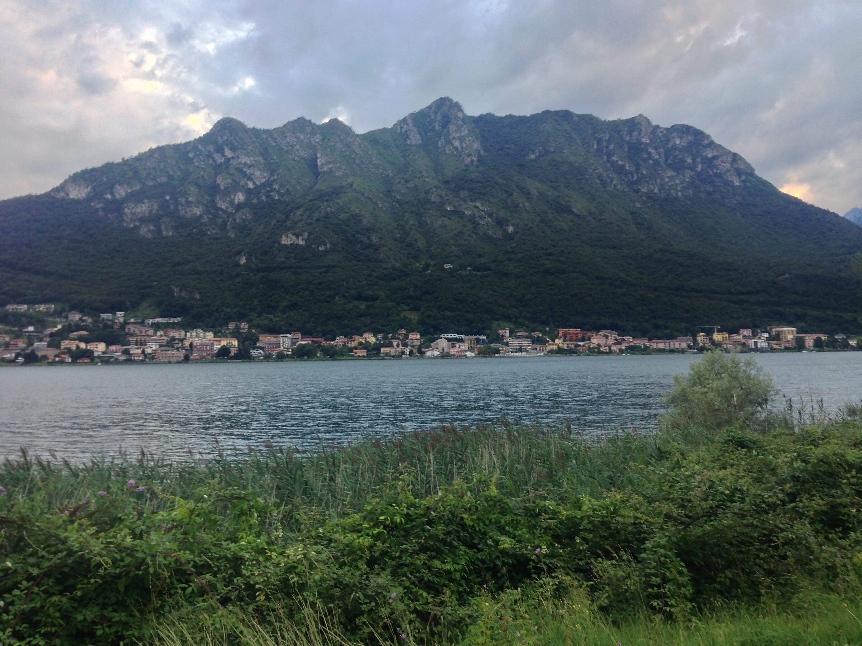 The view from Lecco.
