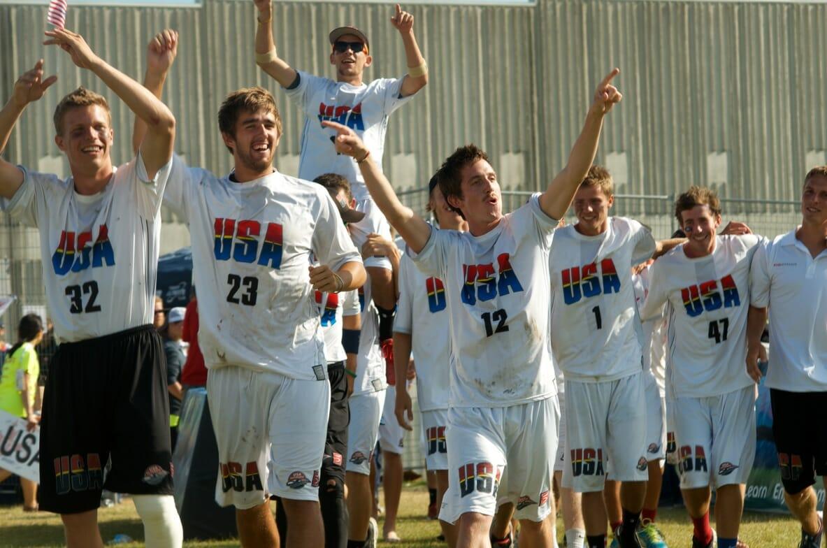The 2013 Team USA U23 Men's team. Photo: Craig Stephen.
