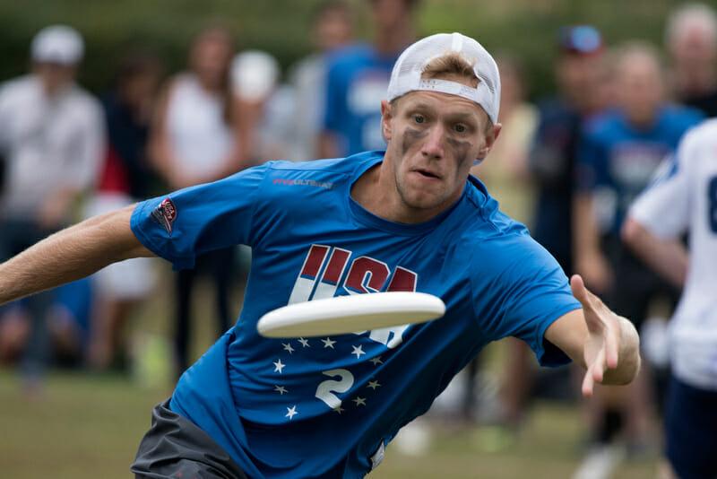 Team USA's Simon Higgins