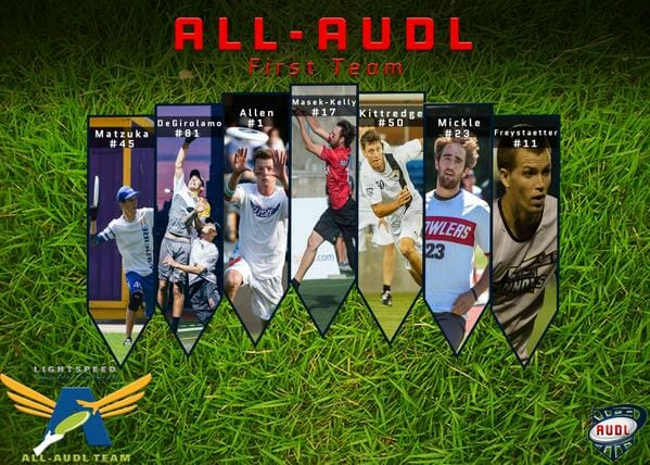 2015 all audl first team
