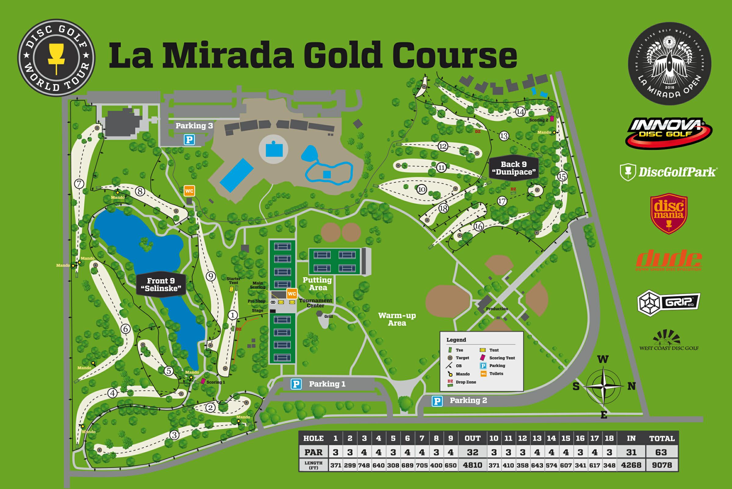 La Mirada Course