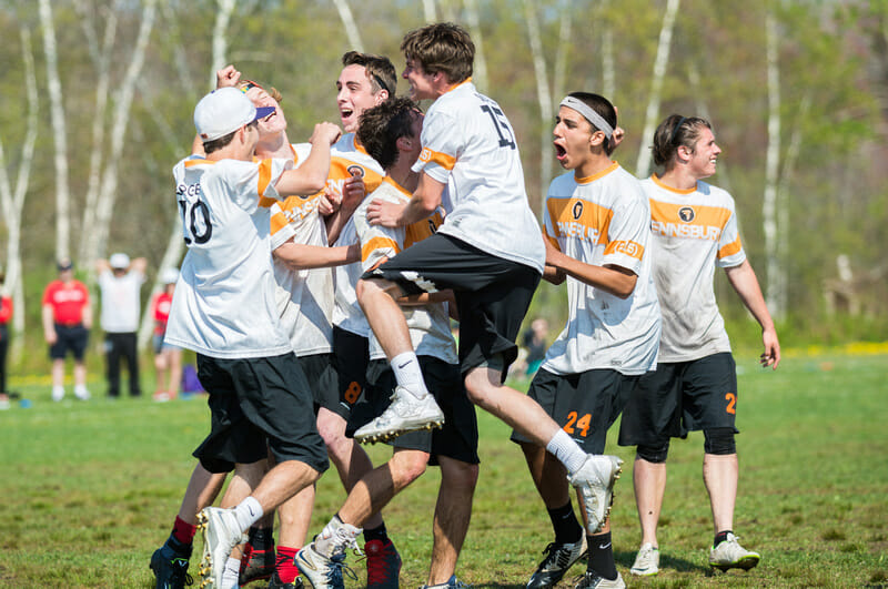 Pennsbury at USAU HS Northeasterns 2015. Photo: Jason Honyotski -- UltiPhotos.com