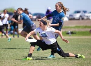 Kristin Pojunis has been nearly unstoppable this season for UCLA BLU. Photo: Conrad Stoll -- UltiPhotos.com