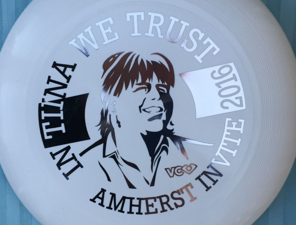 Tiina Booth Commemorative Disc