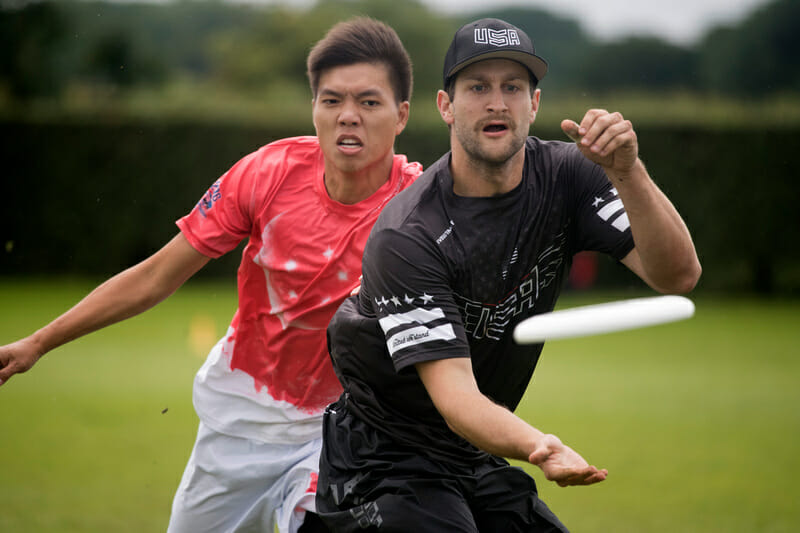 USA Men's National Team's Nick Stuart. Photo: Jolie Lang -- UltiPhotos.com