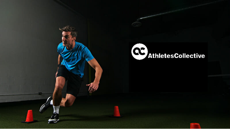 athletes collective with logo