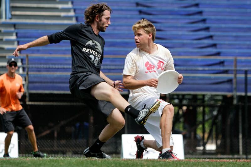 Revolver and Sockeye return to the field for the first time since the US Open in early July. Photo: Burt Granofsky -- UltiPhotos.com