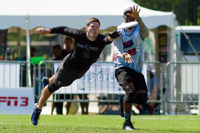 Slow White and Mixtape could be set to battle again after their finals matchup at the US Open. Photo: Burt Granofsky -- UltiPhotos.com
