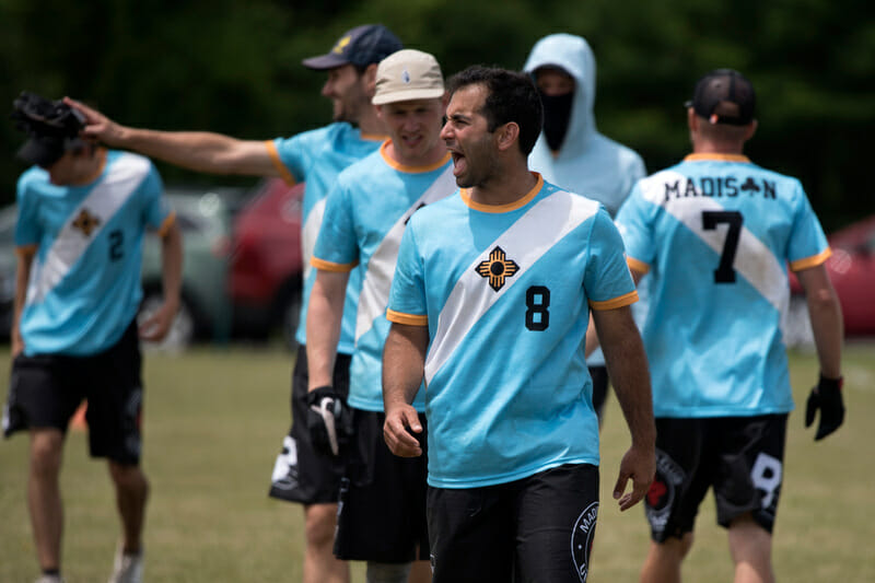 Madison Club at the 2016 US Open. Photo: Jolie J Lang -- UltiPhotos.com